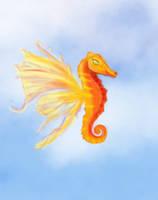 Flying Seahorse 'mermaids wip' by Miss-Chili