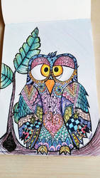 zendoodle bird by Miss-Chili