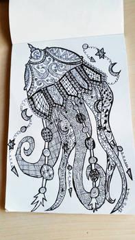 zendoodle jelyfish
