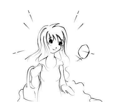 Basket Girl by SujenTsuami
