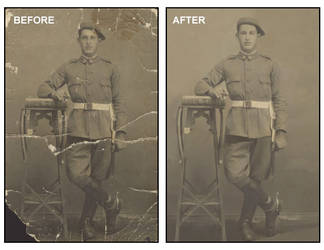 Restoration Before and After