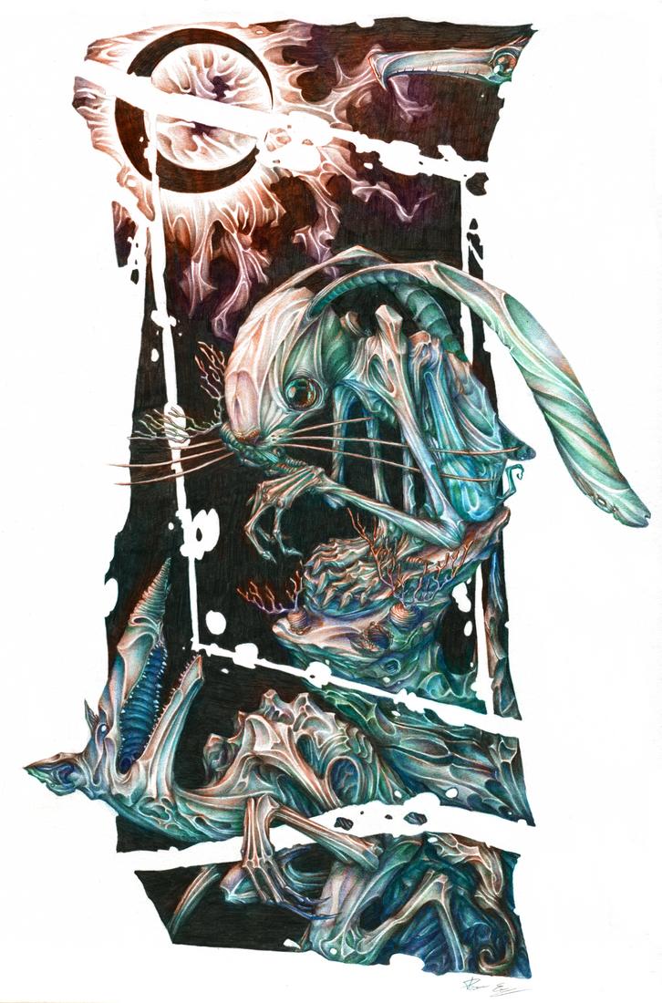 Prey ( colored ) by erik-blaster