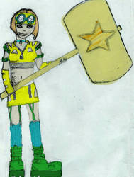 Star Malet girl