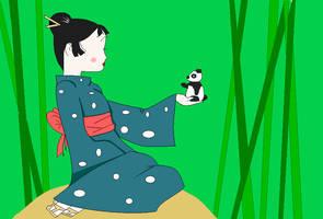 MS PAINT Komono girl