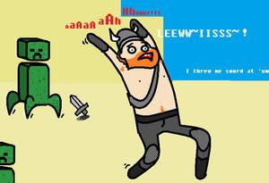 Honeydew Throw sword No Effect