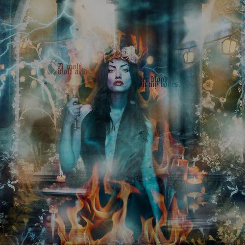 Phoebe Tonkin ' Wolf ' by Marsova