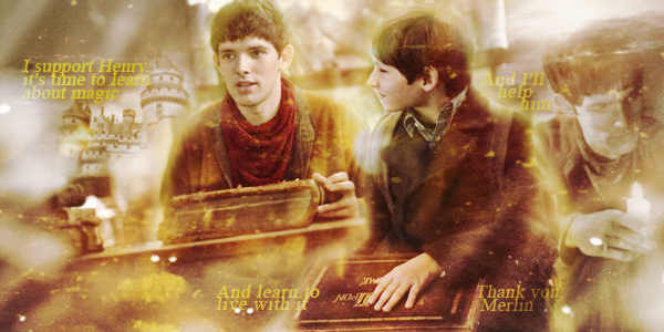 Merlin and Once upon a time by Marsova