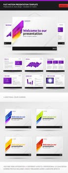 Fast Motion PPTX Template by erigongraphics