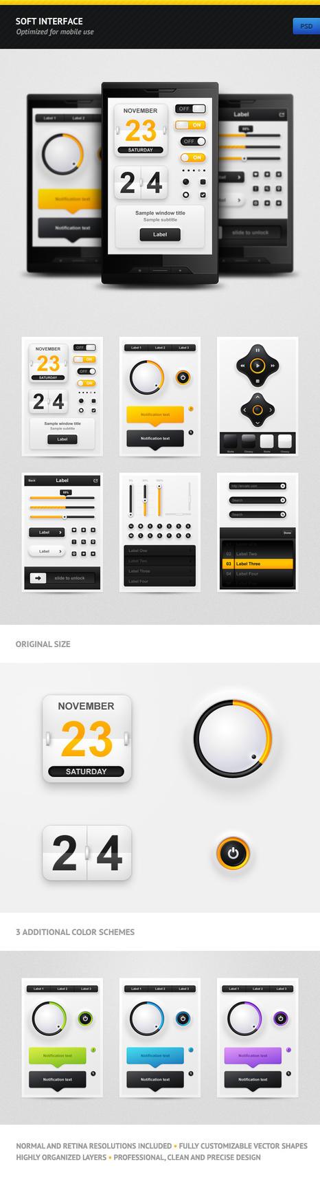 Soft Interface by erigongraphics