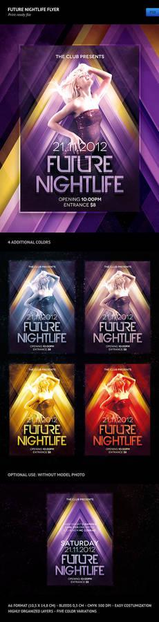 Future Nightlife Flyer