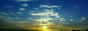 Wide Blue Sky by macheli