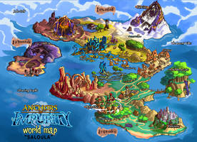 Anchors Of Impurity - World Map
