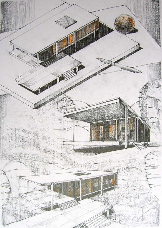 Farnsworth house by thedreameater on deviantart Architectural design review