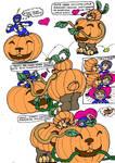 Jane O Lantern- Pumpkin Cocoon