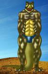 Jurassic Muscle by MrD66