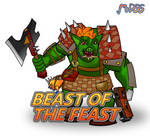 Beast of The Feast - Badge by MrD66