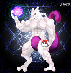 Pokemon 25th Anniversary - Mewtwo