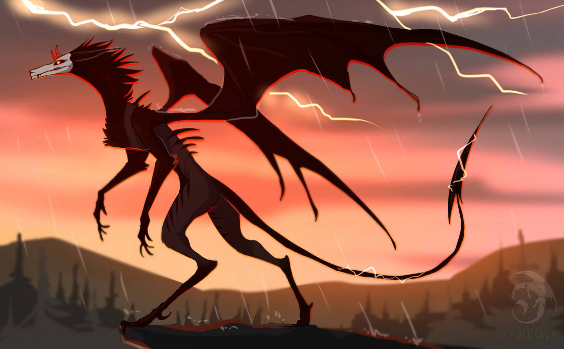 At the peak of thunderstorms by HellcatTaigaen
