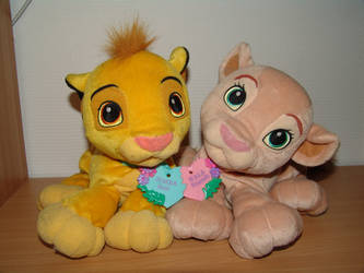 Best Friends - Simba and Nala by Toy-Ger
