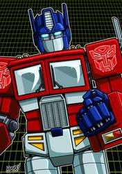 Optimus Prime by SeanRM