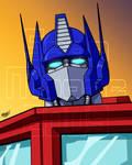Commission - Optimus Prime