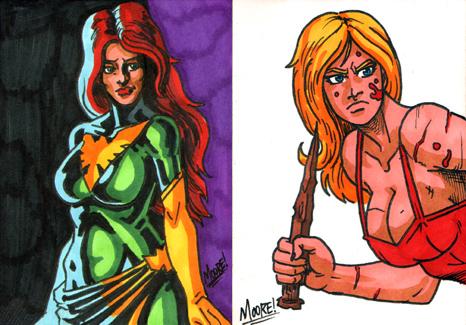 PSC - Buffy n Phoenix by SeanRM