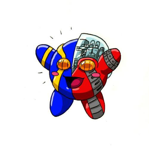 Kirby - Kikaider Power by SeanRM