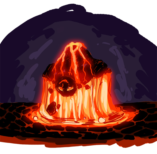 Lava Beast Design by SeanRM