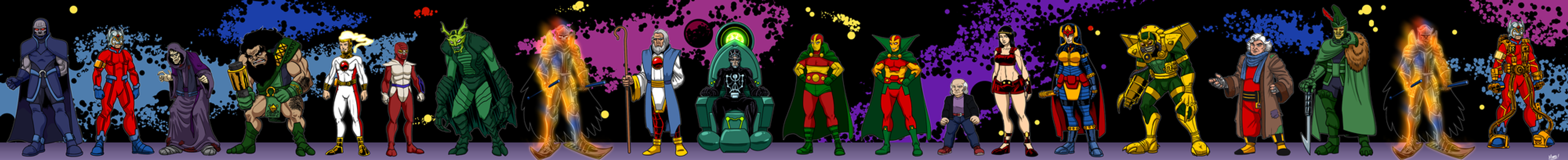 The New Gods Redesigns - Season 1 by SeanRM