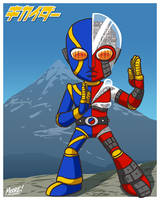 Heads Up 151 - SD Kikaider by SeanRM