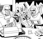 Stream - Megatron and Cy-Kill