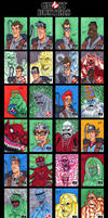GhostBusters Sketch Cards - 01