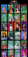 GhostBusters Sketch Cards - 02