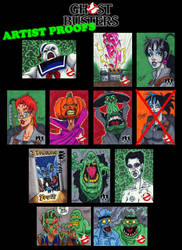 Ghostbusters AP Cards For Sale! by SeanRM