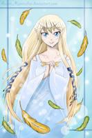Skyloft Goddess by AustriaUsagi