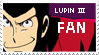 Lupin III Fan Stamp by AustriaUsagi