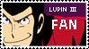 Lupin III Fan Stamp by AustriaKaninchen