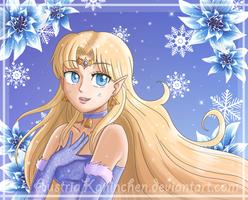 Winter Zelda by AustriaUsagi