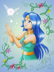 Goddess Nayru by AustriaUsagi