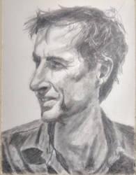 Andrew Bird portrait by riotweekend