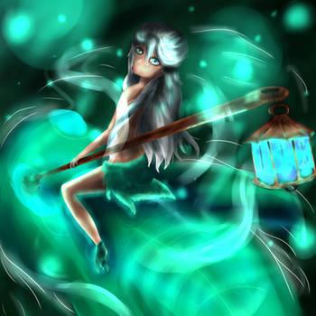 Swamp Spirit by BlueBell06