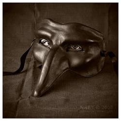 Live mask black by adnrey