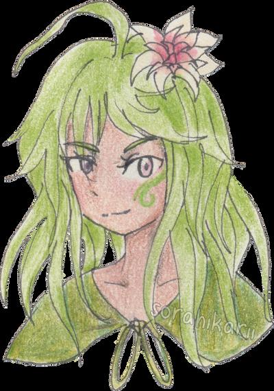 Commission: Green by SoraHikarii