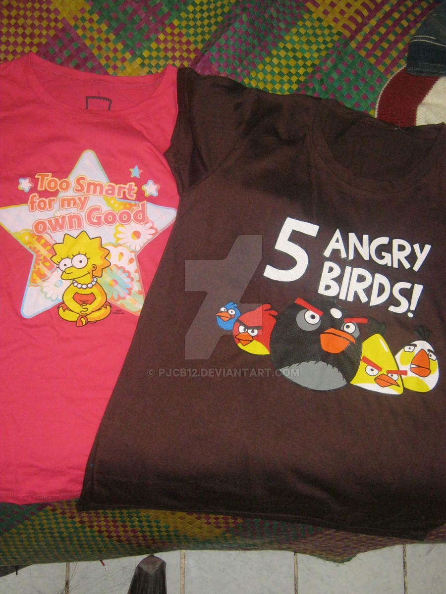 My Fan Shirts by pjcb12