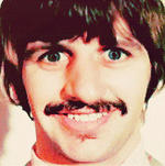 The Beatles- Creepy Face of Ringo. by pjcb12