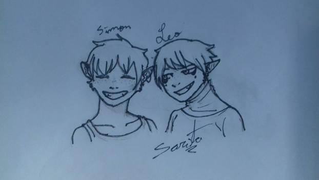 Simon and Leo