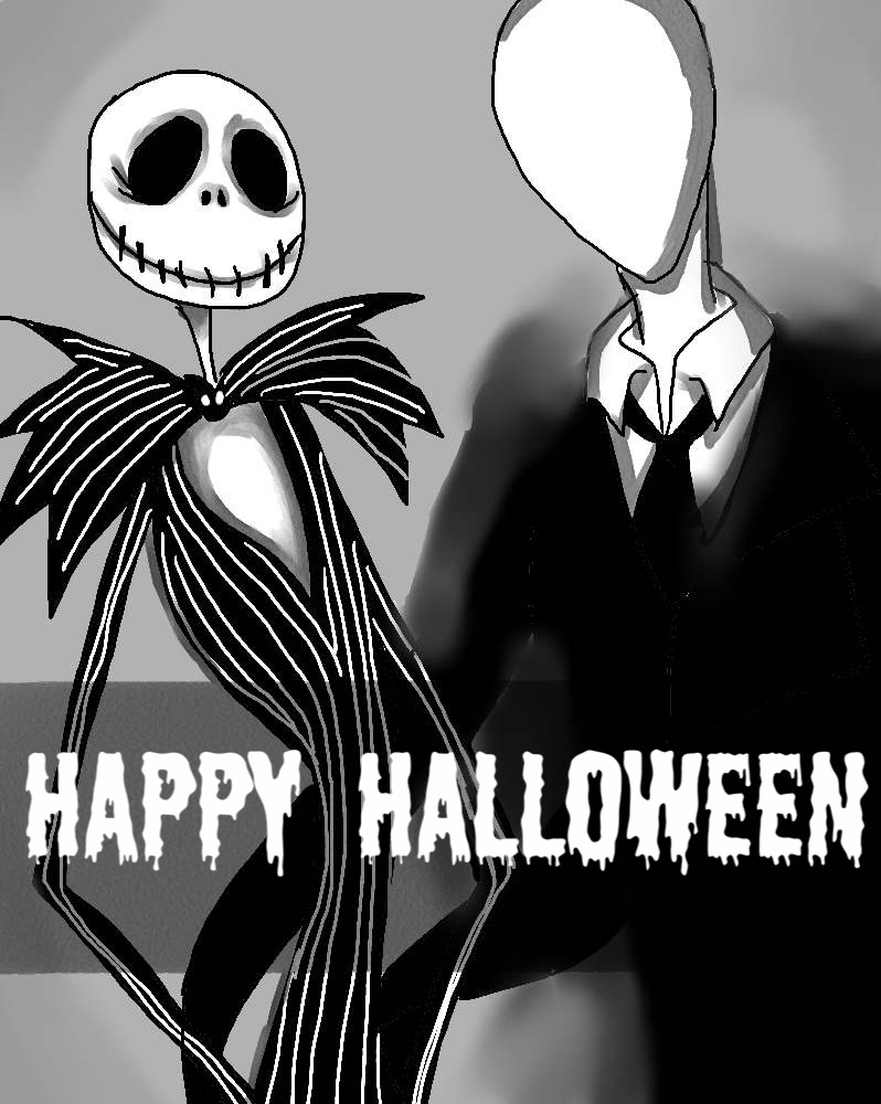 jack and slenderman by nayrouto on deviantart