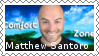Matthew Santoro Fan Stamp by Wolf-Therian-Sadies