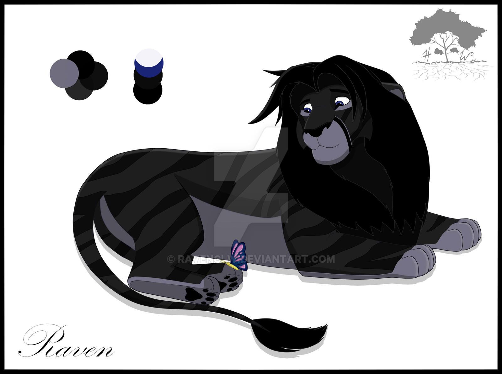 Algunas de mis ilustraciones. Raven_by_ravenclw-da4efv9