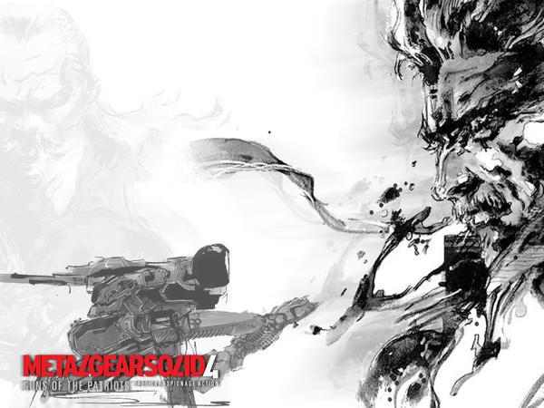 Metal Gear Solid 4 Wallpaper by KingTeDdY on DeviantArt